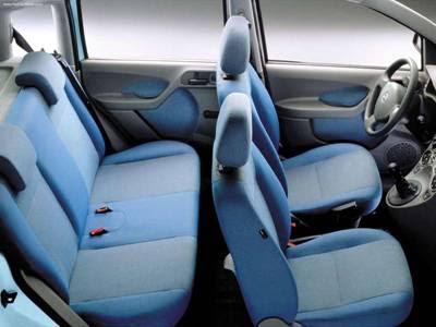 2004 Fiat Panda interior 1