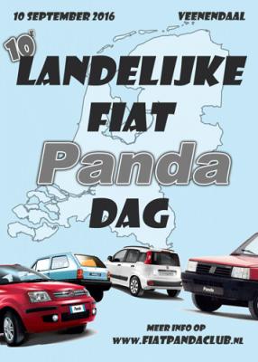 Logo Landelijke Fiat Panda Dag 2016
